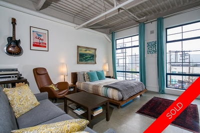 Mount Pleasant Vancouver Loft for sale: Artworks Studio 737 sq.ft. (Listed 2014-04-18)