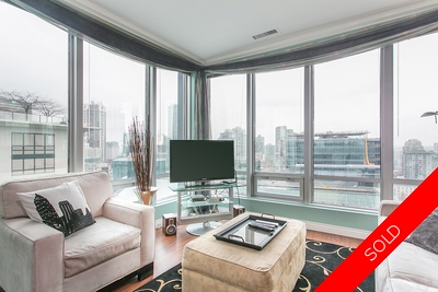 Downtown Vancouver Condo for sale: The Electra 1 bedroom 614 sq.ft. (Listed 2015-02-06)