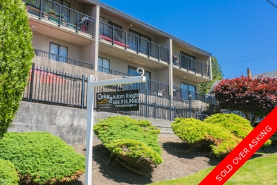 Uptown New Westminster Condo for sale: Sundayle Manor 1 bedroom & flex 618 sq.ft. (Listed 2017-09-04)