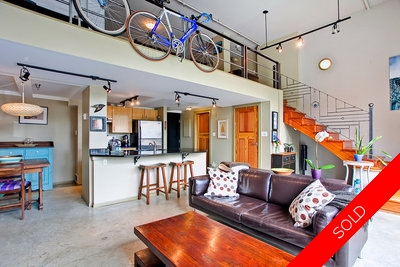 Cannery Row Vancouver Loft for sale: Cannery Row 1 Bedroom Loft 926 sq.ft. (Listed 2012-05-31)