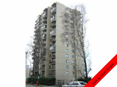 West End of Vancouver Condo for sale: The Lamplighter 1 bedroom 501 sq.ft. (Listed 2012-06-30)